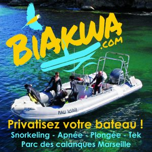 bateau plongée et snorkeling privatif Marseille
