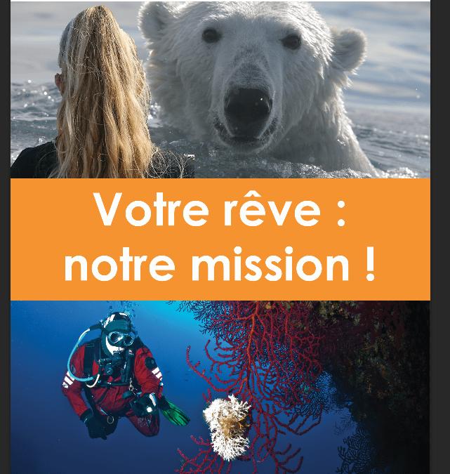 Salon plongée du 12 au 15 janvier : découvrez nos projets éco-responsables et nos formations !