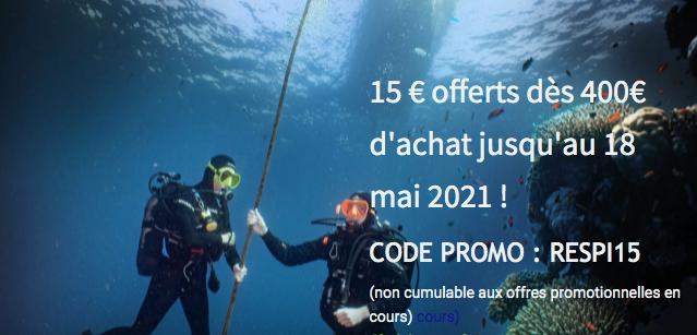 Votre formation à la plongée sous-marine aux meilleures conditions !