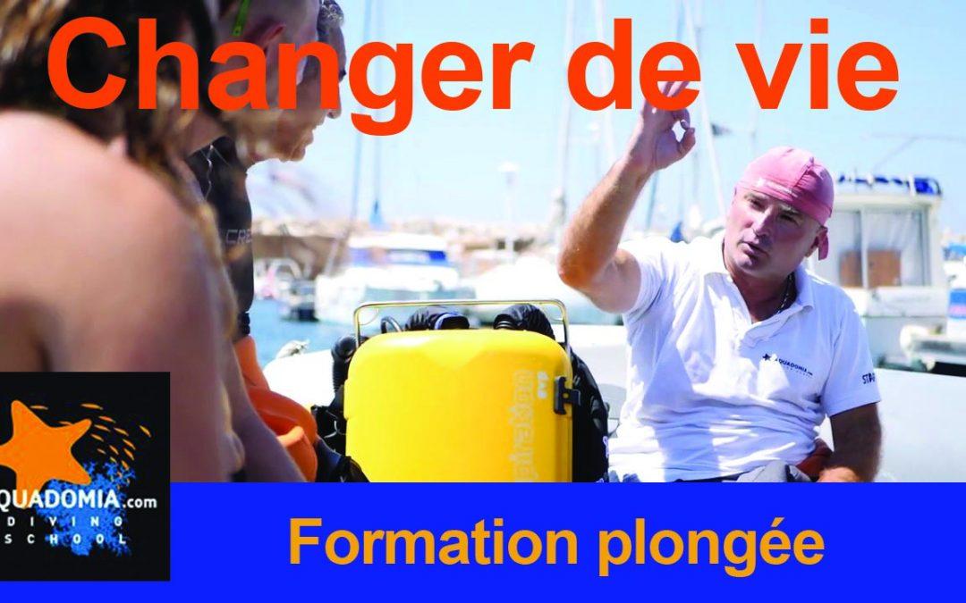 Devenir Divemaster, plongeur niveau 1 2 3, devenir mono de plongée pro, changer de vie !