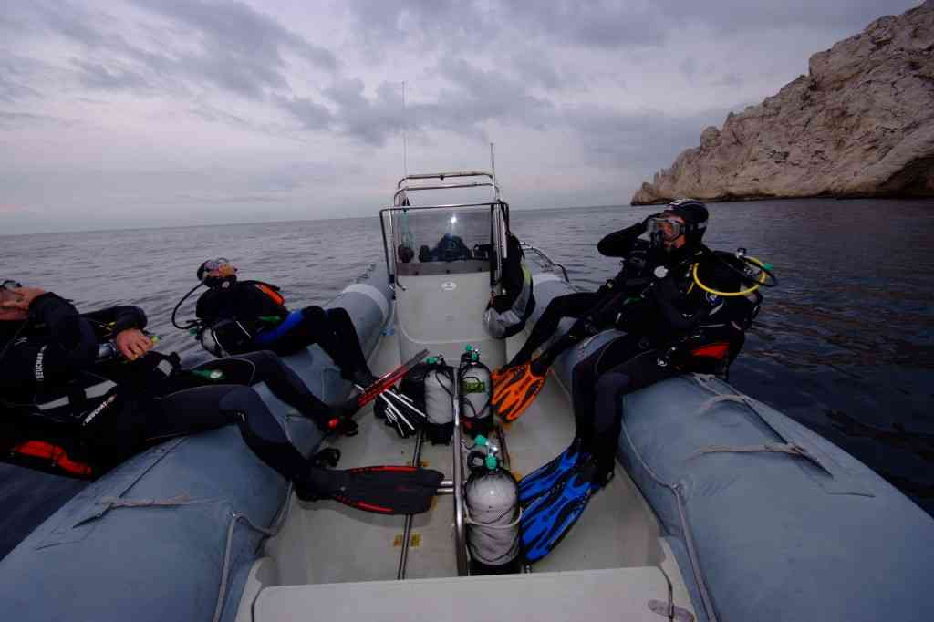 Formation niveau 3 plongée Marseille