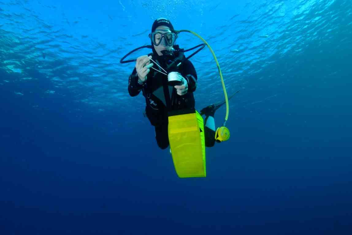 Formation plongée profonde  Deep Diver PADI. Stage plongée sous marine