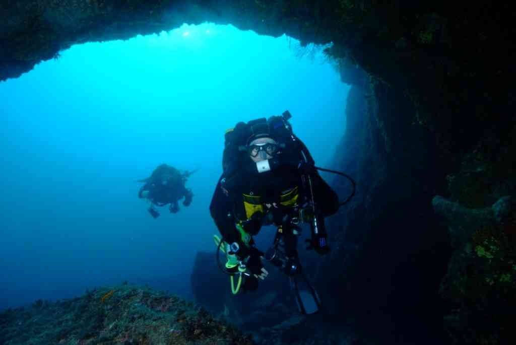 Formation plongée caverne Marseille