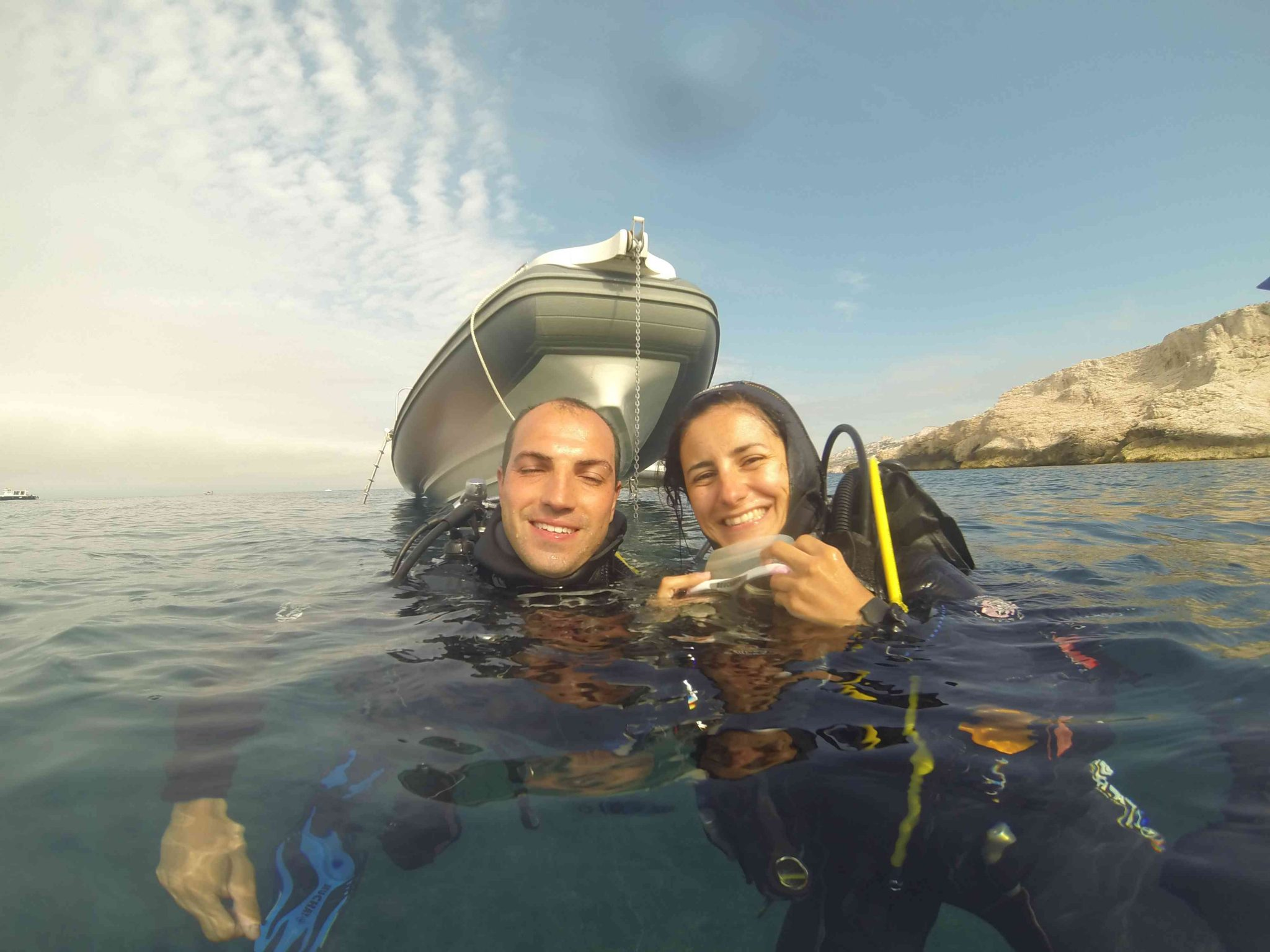 Scuba diving in Marseille