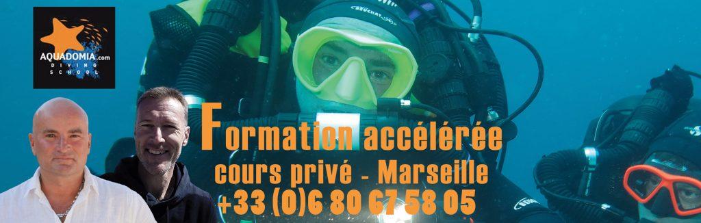 Formation plongée Marseille