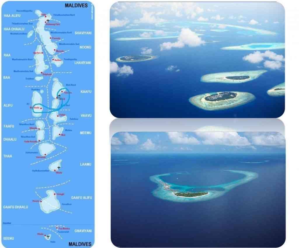 Maldives Itinéraire