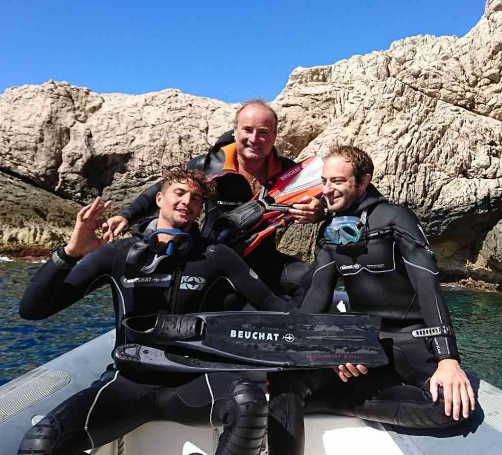 formation moniteur de plongée Marseille SDI STDI