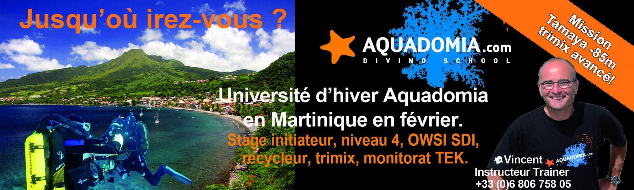 Université d'hiver Aquadomia - Mission Tamaya -