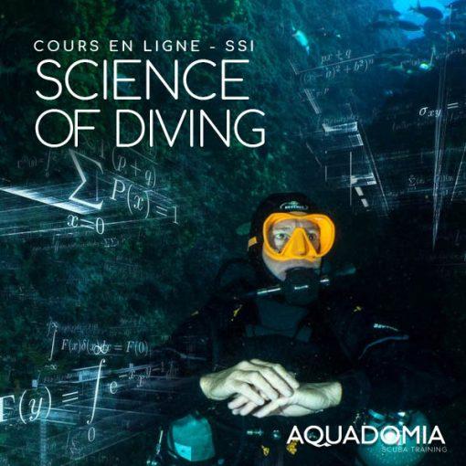 formation SSI, cours en ligne, la science de la plongée