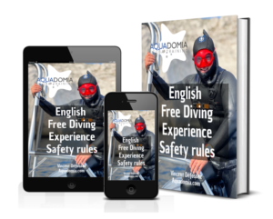 English free diving experience